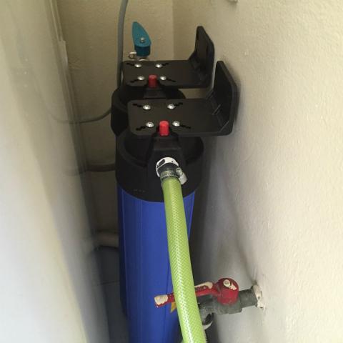 洗濯機用 浄水軟水器