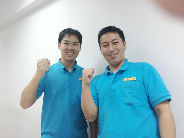 バンコクの浄水器専門店スタッフ紹介 小林忠文とYO